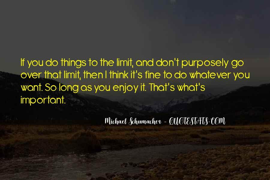 Enjoy Whatever You Do Quotes #47764