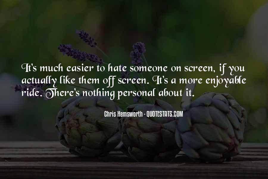 Enjoyable Quotes #73343