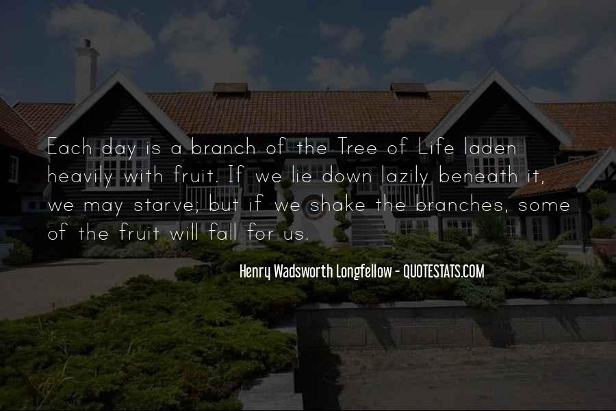 Quotes About The Life Of A Tree #113673
