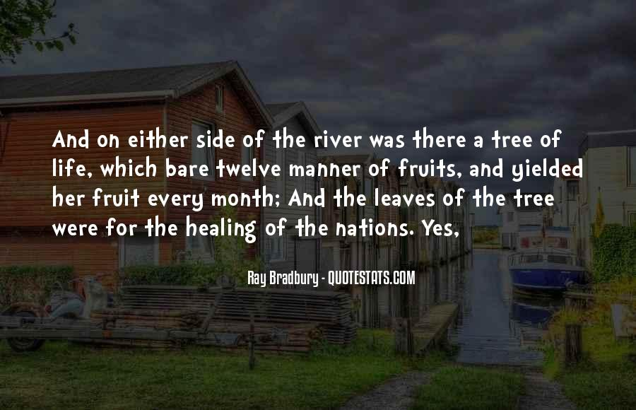 Quotes About The Life Of A Tree #217209