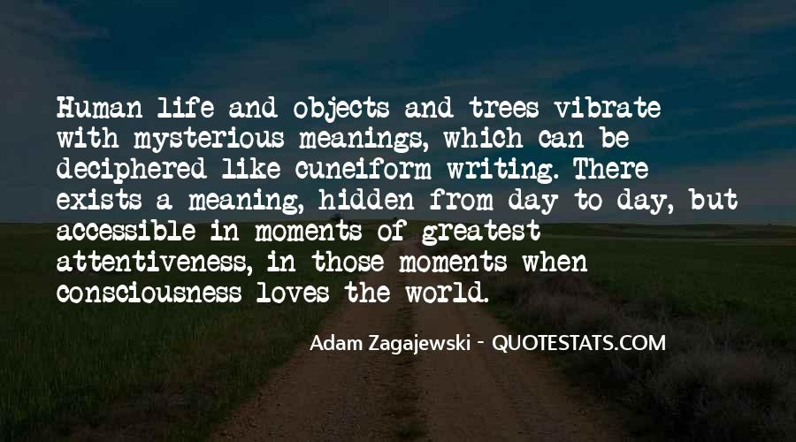Quotes About The Life Of A Tree #448221