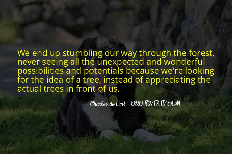 Quotes About The Life Of A Tree #935806
