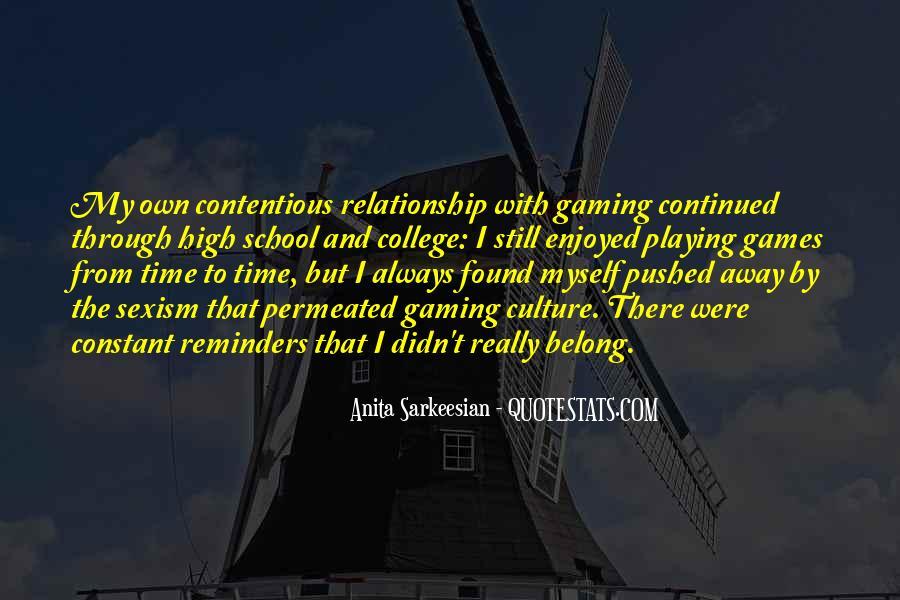 Enjoyed Myself Quotes #538088