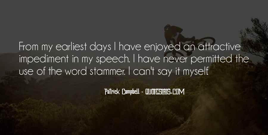 Enjoyed Myself Quotes #801991