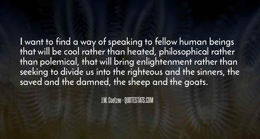 Enlightenment Philosophy Quotes #334507