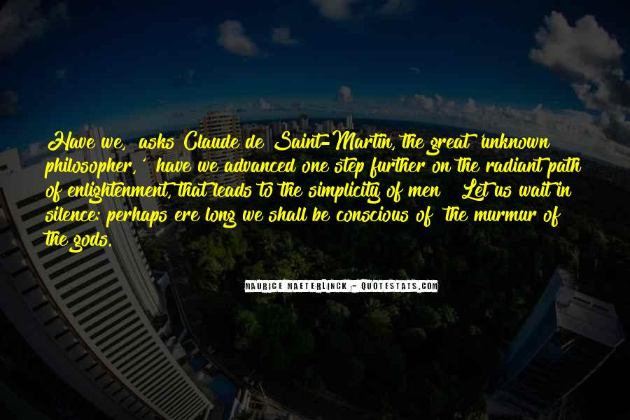 Enlightenment Philosophy Quotes #835354