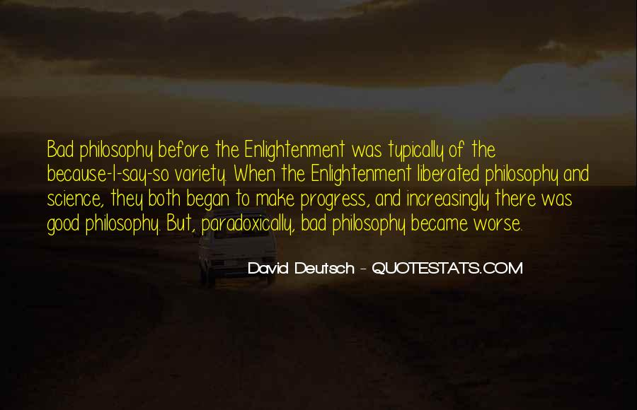 Enlightenment Philosophy Quotes #849966