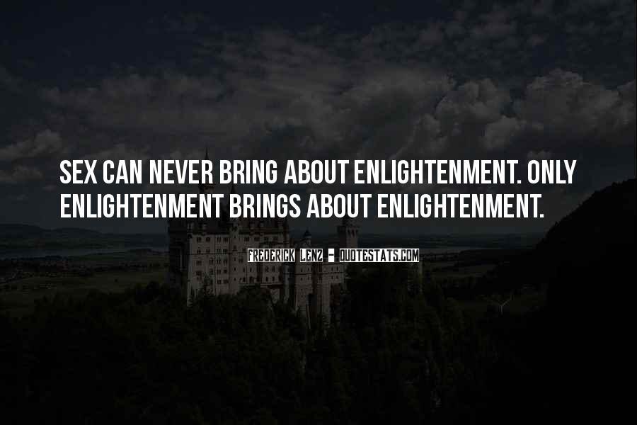 Enlightenment Philosophy Quotes #930841