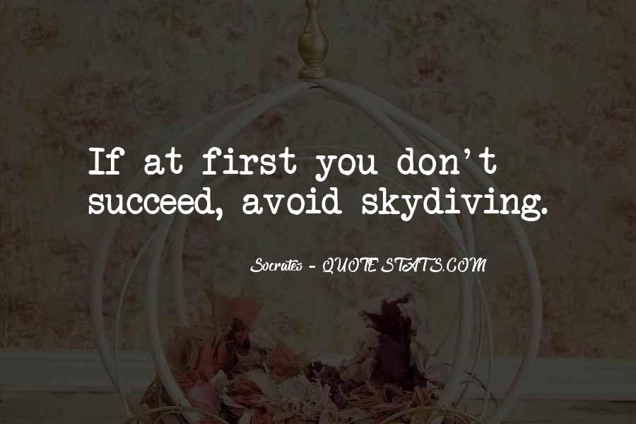 Quotes About If At First You Don Succeed #1424010