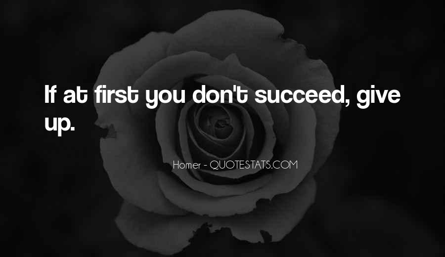 Quotes About If At First You Don Succeed #1473618