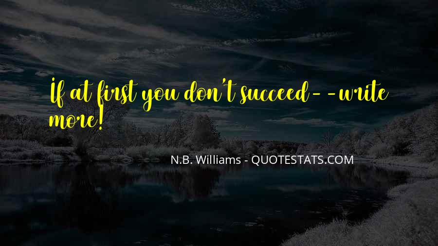 Quotes About If At First You Don Succeed #1571837