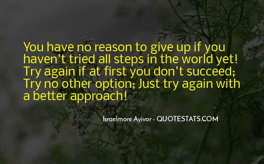 Quotes About If At First You Don Succeed #226563
