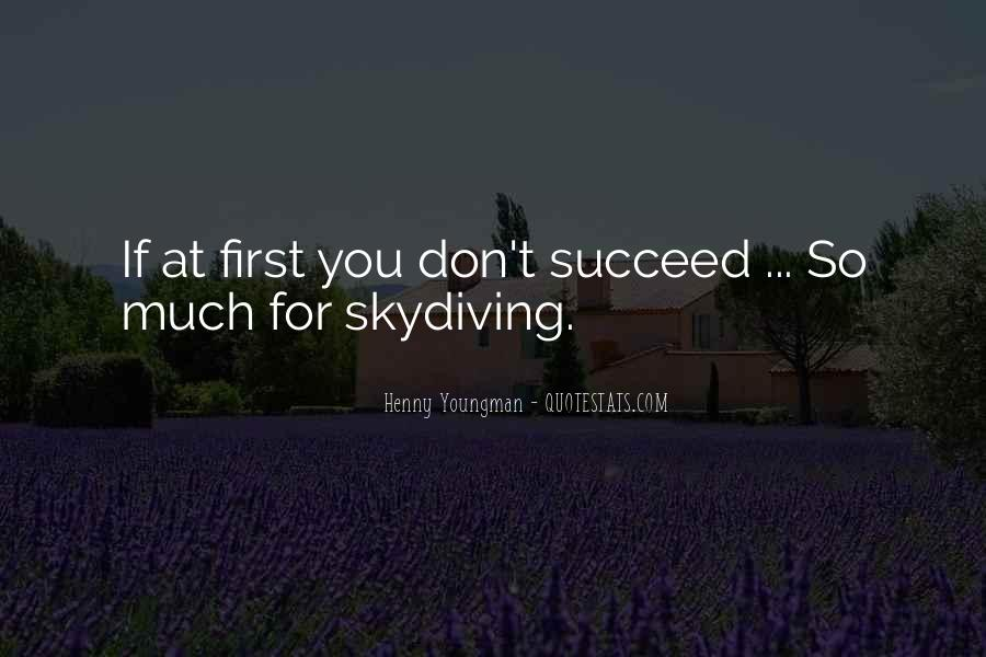 Quotes About If At First You Don Succeed #305908