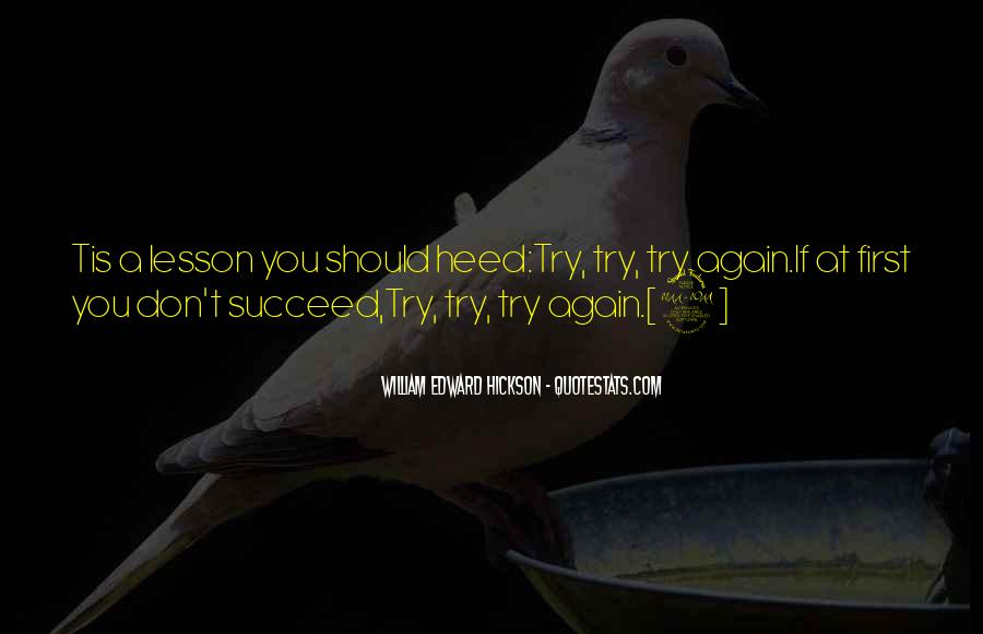 Quotes About If At First You Don Succeed #383235
