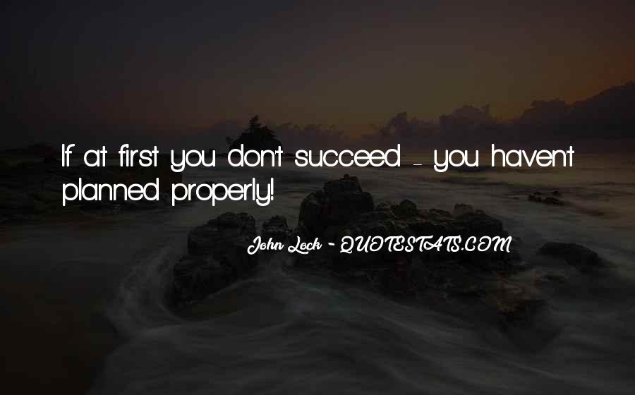 Quotes About If At First You Don Succeed #391446