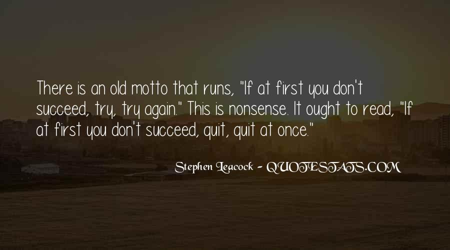 Quotes About If At First You Don Succeed #396084