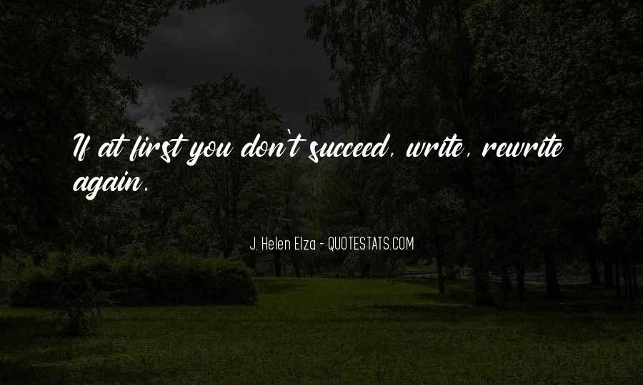Quotes About If At First You Don Succeed #399156