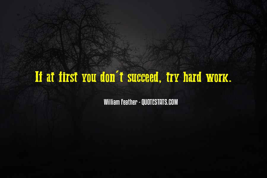 Quotes About If At First You Don Succeed #592117