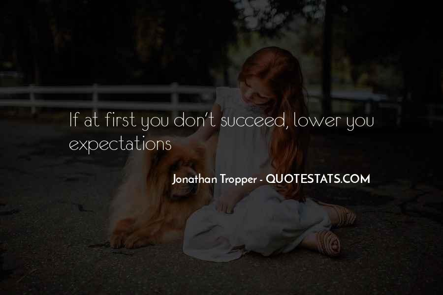 Quotes About If At First You Don Succeed #906084
