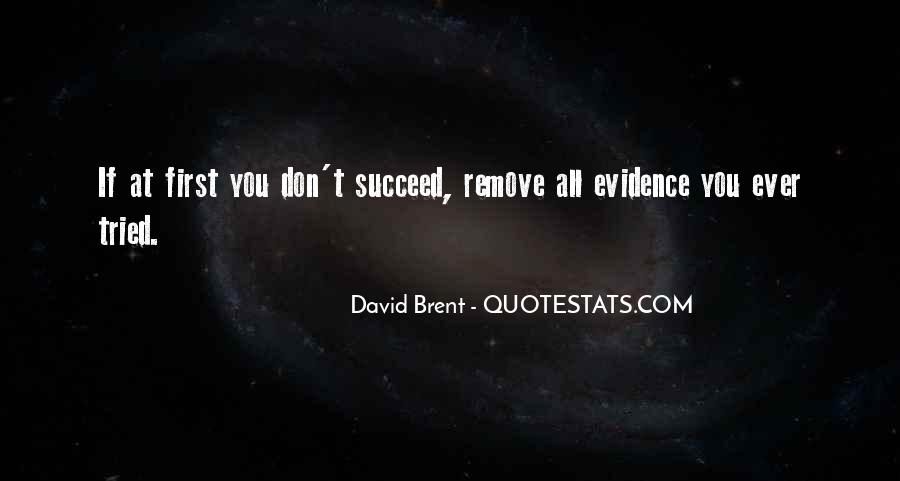Quotes About If At First You Don Succeed #928394
