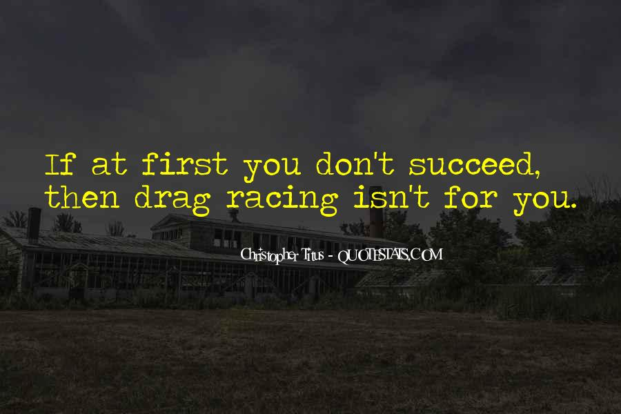 Quotes About If At First You Don Succeed #948399