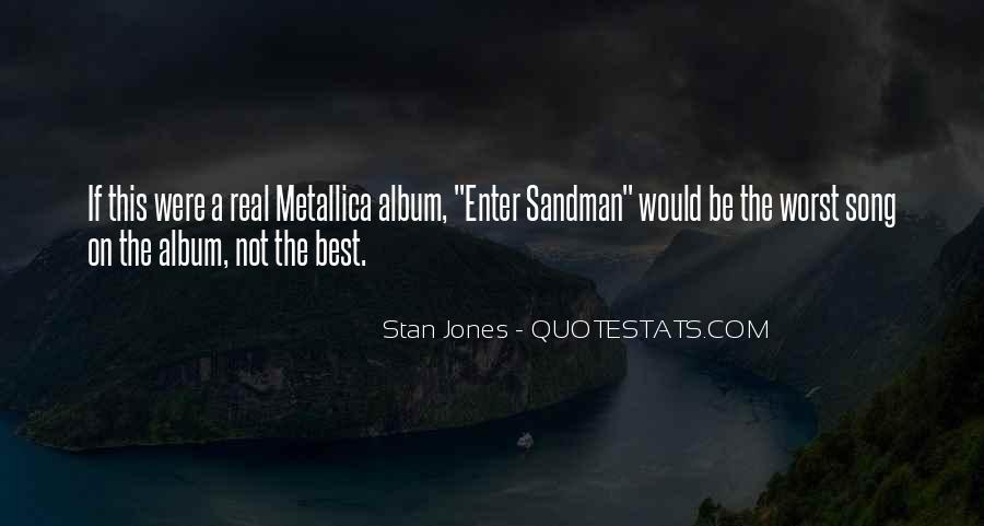Enter Sandman Quotes #71784