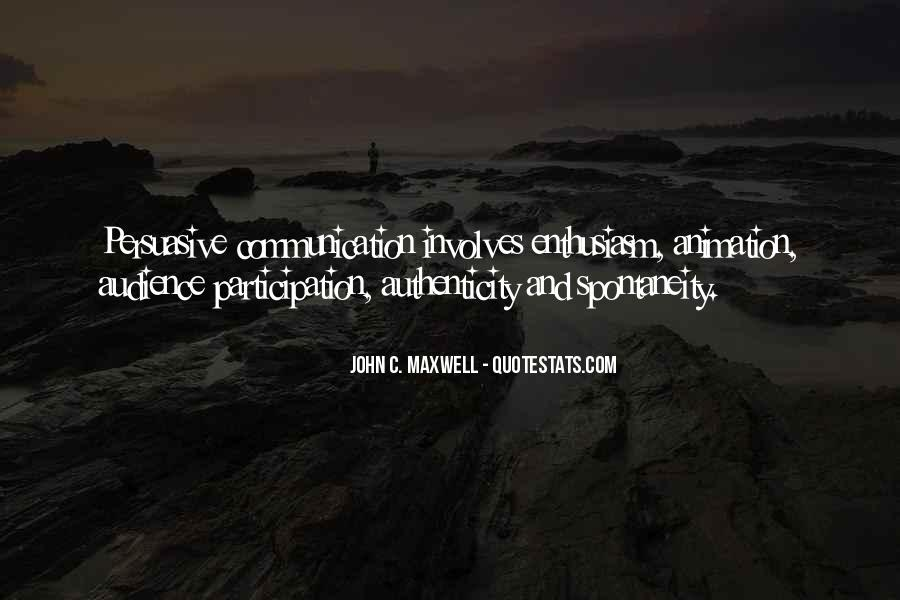 Enthusiasm And Leadership Quotes #1669775