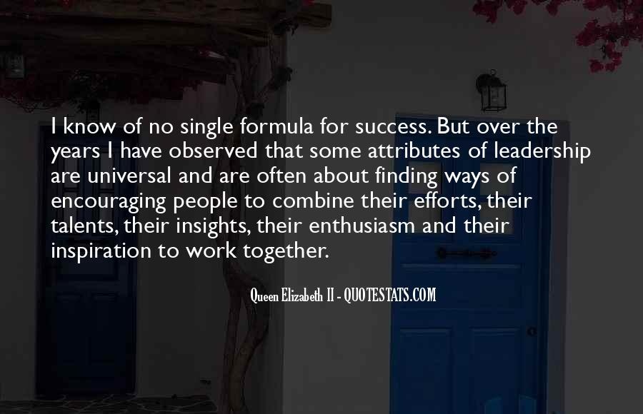 Enthusiasm And Leadership Quotes #224125