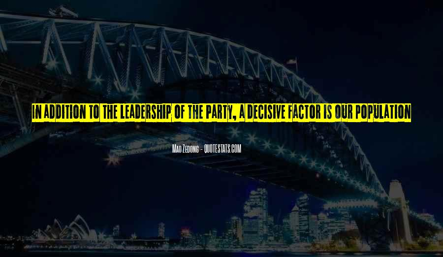 Enthusiasm And Leadership Quotes #677248