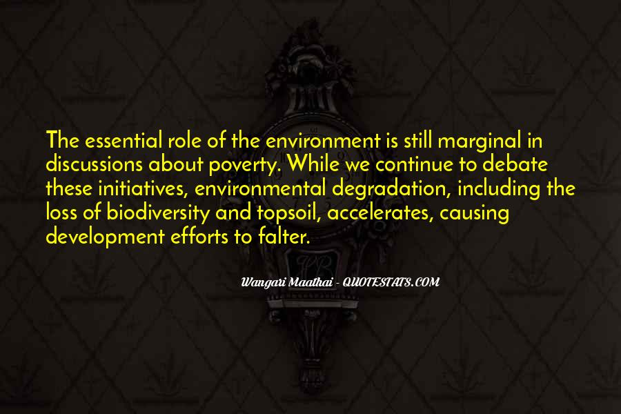 Environment And Biodiversity Quotes #7771