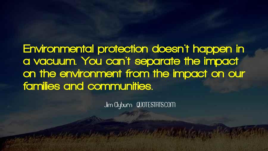Environmental Impact Quotes #1075913