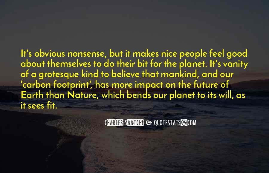 Environmental Impact Quotes #1200853