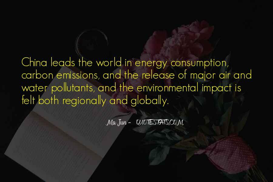 Environmental Impact Quotes #1402373