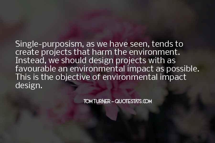 Environmental Impact Quotes #1638190