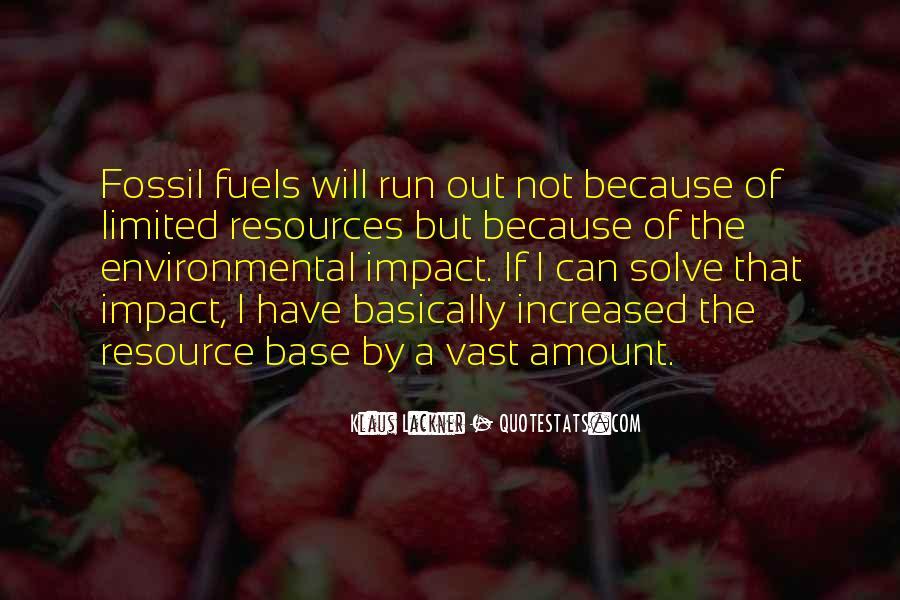 Environmental Impact Quotes #1868513