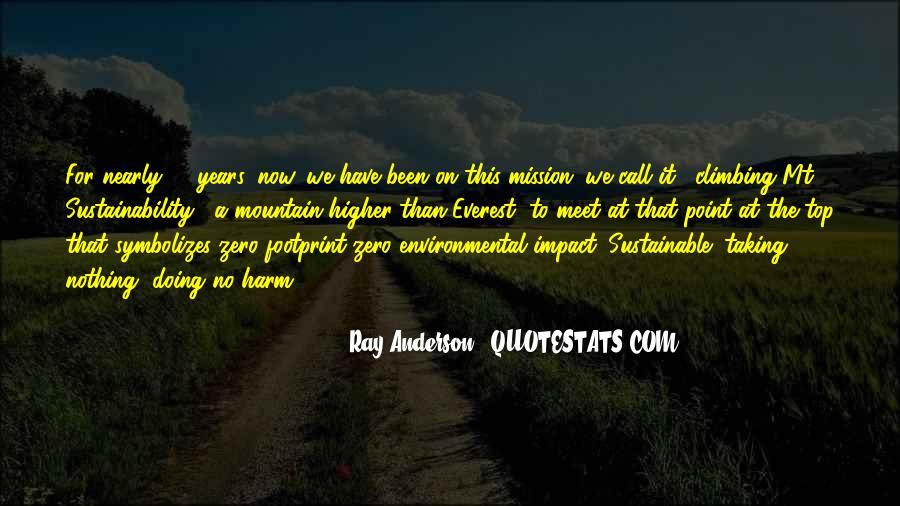 Environmental Impact Quotes #216513