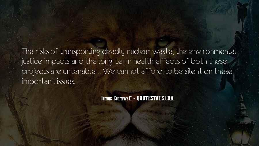 Environmental Impact Quotes #294418