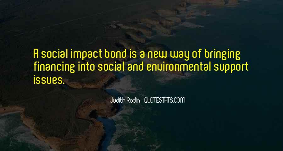 Environmental Impact Quotes #387445