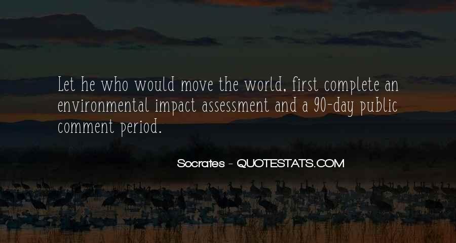 Environmental Impact Quotes #409768