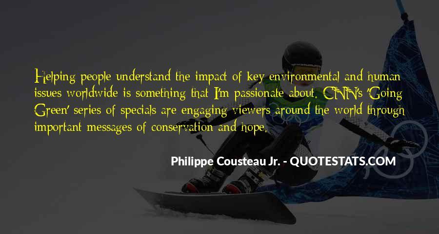 Environmental Impact Quotes #450781