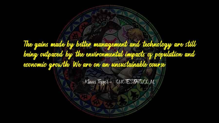 Environmental Impact Quotes #514335