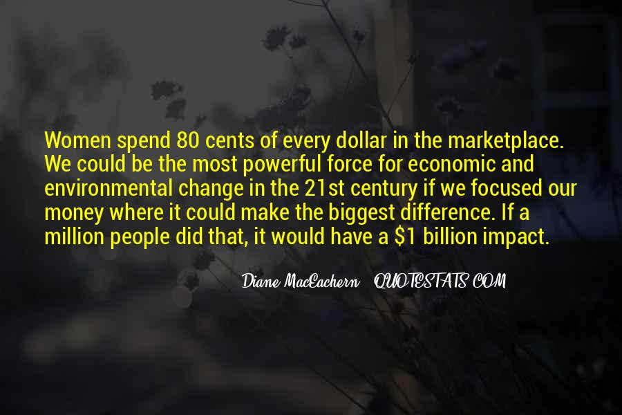 Environmental Impact Quotes #675345