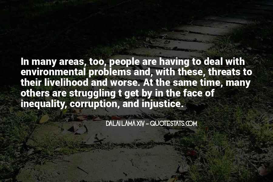 Environmental Threats Quotes #1005097