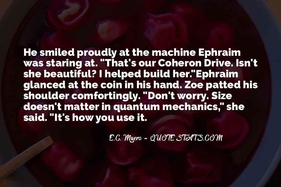 Ephraim Quotes #789913