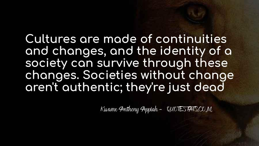 Quotes About Identity And Society #1000729