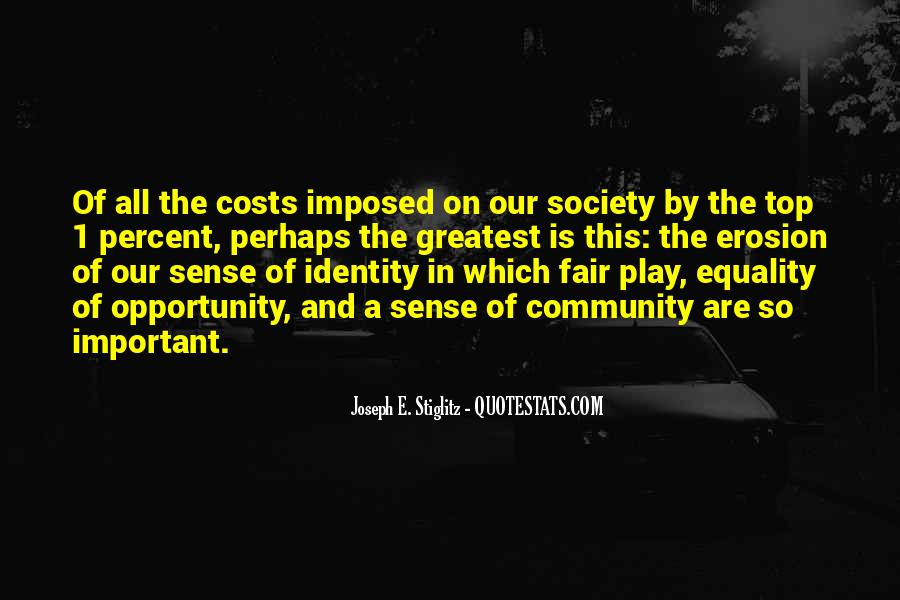 Quotes About Identity And Society #1074790