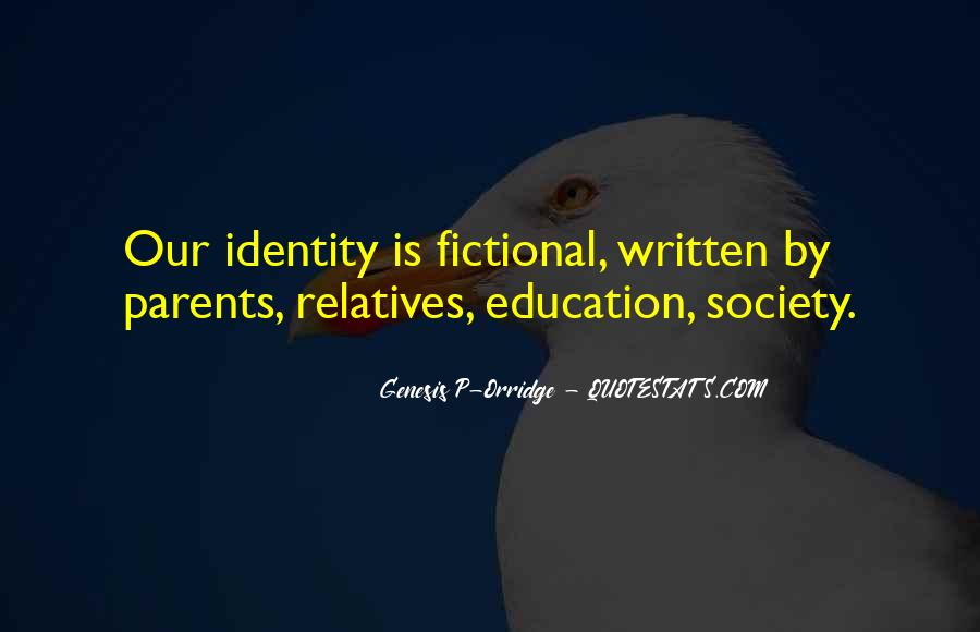 Quotes About Identity And Society #1481232