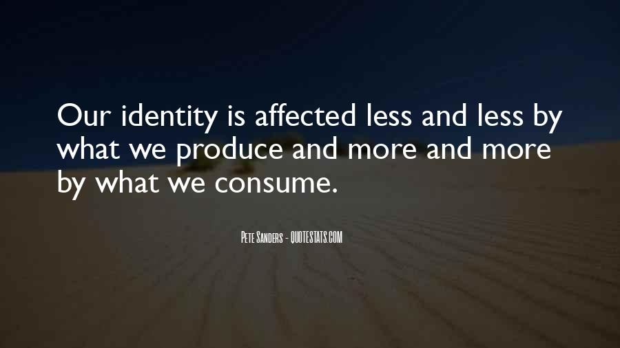 Quotes About Identity And Society #67363