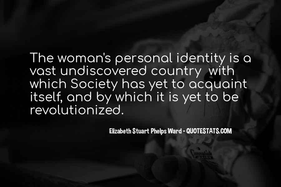 Quotes About Identity And Society #814925
