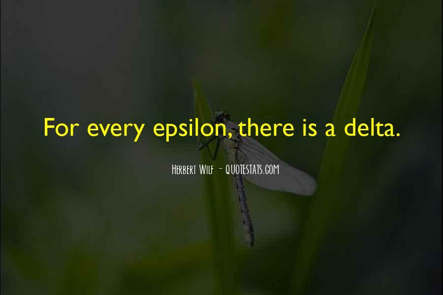 Epsilon Quotes #444239